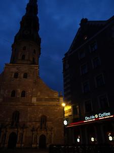 Etappe Tukums - Riga (Latvia-Lettland) / Winterthur-St.Peterburg-Winterthur by bicycle / © Rob Tani, 23.8.08
