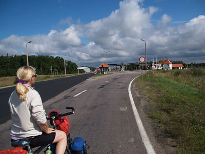 Etappe Svetciems (Latvia-Lettland) -  Viljandi (Estonia-Estland) / Winterthur-St.Peterburg-Winterthur by bicycle / © Rob Tani, 26.8.08