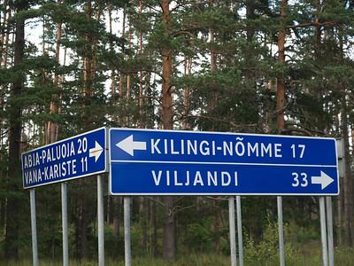 Etappe Svetciems (Latvia-Lettland) -  Viljandi (Estonia-Estland) / Winterthur-St.Peterburg-Winterthur by bicycle / © Rob Tani, 26.8.08