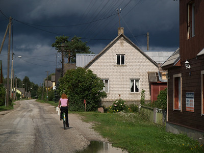 Etappe Tartu - Joehvi (Estonia-Estland) / Winterthur-St.Peterburg-Winterthur by bicycle / © Rob Tani, 28.8.08