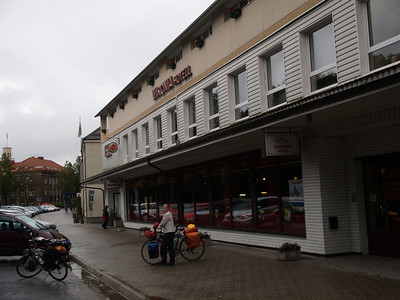 Etappe Joehvi (Estonia-Estland)  - Kingisepp  (Russia-Russland) / Winterthur-St.Peterburg-Winterthur by bicycle / © Rob Tani, Joehvi 29.8.08