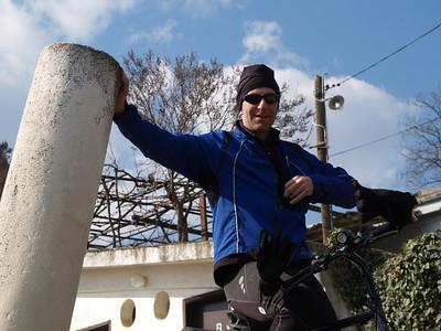Mazedonien (Macedonia) by bicycle / © Rob Tani, Febr. 2008 / Herakleum bei Bitola