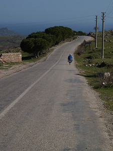 Etappe Odunluk-Kücükkuyu, Türkei (Turkey) /  © Rob Tani, März 2008 / Wthur-Istanbul by bicycle (..and back again)