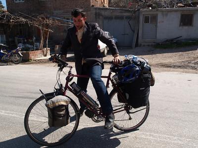 Etappe Odunluk-Kücükkuyu, Türkei (Turkey) /  © Rob Tani, März 2008 / Wthur-Istanbul by bicycle