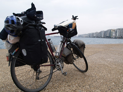 Thessaloniki, Griechenland (Greece) by bicycle / © Rob Tani, Febr. 2008