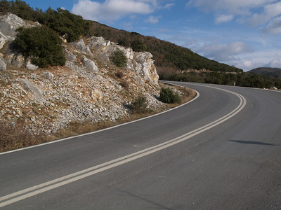 Nord-Griechenland (Greece) by bicycle / © Rob Tani, Febr. 2008