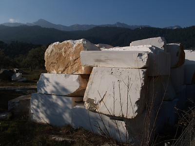 Insel Thassos, Nord-Griechenland (Greece) by bicycle / © Rob Tani, Febr. 2008