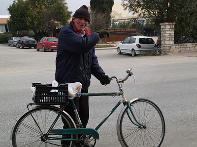 Komotini, Nord-Griechenland (Greece) by bicycle / © Rob Tani, Febr. 2008