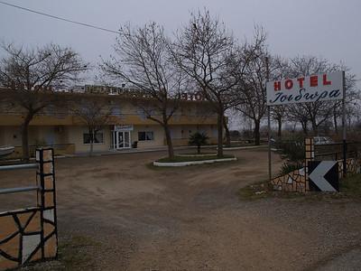 Via Egnatia, Nord-Griechenland, kurz vor der türkischen Grenze, Wthur-Istanbul  by bicycle / © Rob Tani, Febr. 2008