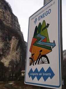 Etappe Trento-Oderzo (ITA) - on the way to Istanbul by bicycle / © Rob Tani, Jan. 2008