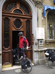 Etappe Trieste (ITA) - Rijeka (HR) - on the way to Istanbul by bicycle / © Rob Tani, Jan. 2008