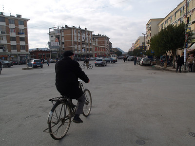 Shkoder, Albanien (Albania) by bicycle / © Rob Tani, Jan. 2008