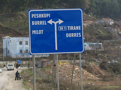 Albanien (Albania) by bicycle / © Rob Tani, Jan. 2008