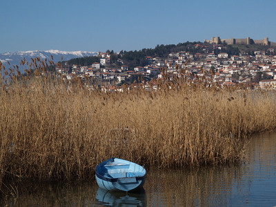 Mazedonien (Macedonia) by bicycle / © Rob Tani, Jan. 2008 / Ohrid