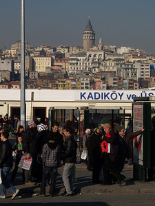 Istanbul, Türkei (Turkey), Wthur-Istanbul by bicycle / © Rob Tani, Febr. 2008