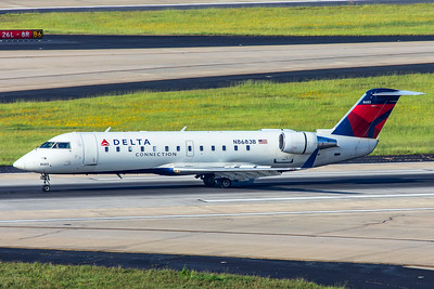 Endeavor Air Bombardier CL-600-2B19 CRJ-200 N8683B 7-5-18