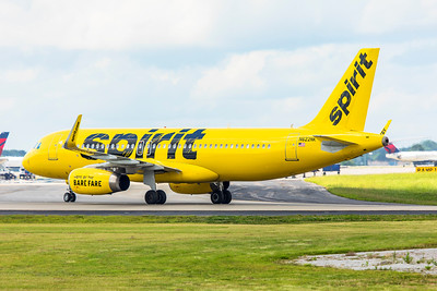 Spirit Airlines Airbus A320-232 N622NK 7-5-18