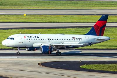 Delta Air Lines Airbus A319-11 N348NB 7-5-18