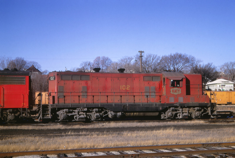 MK&T 9 - Nov 25 1967 - GP-7 No 102 Joplin MO
