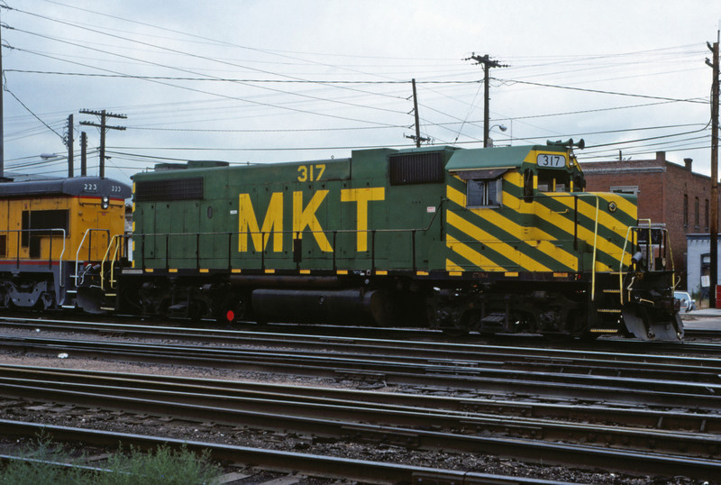 MK&T 15 - Jul 30 1989 - No 317 @ Denver COLO