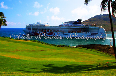 NCL, PRIDE OF AMERICA, LEAVES, KAUAI, NAWILIWILI, HARBOR