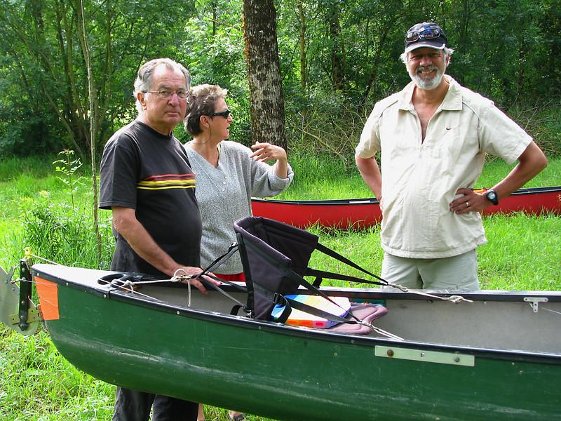 Luc ,Brigitte et Peter