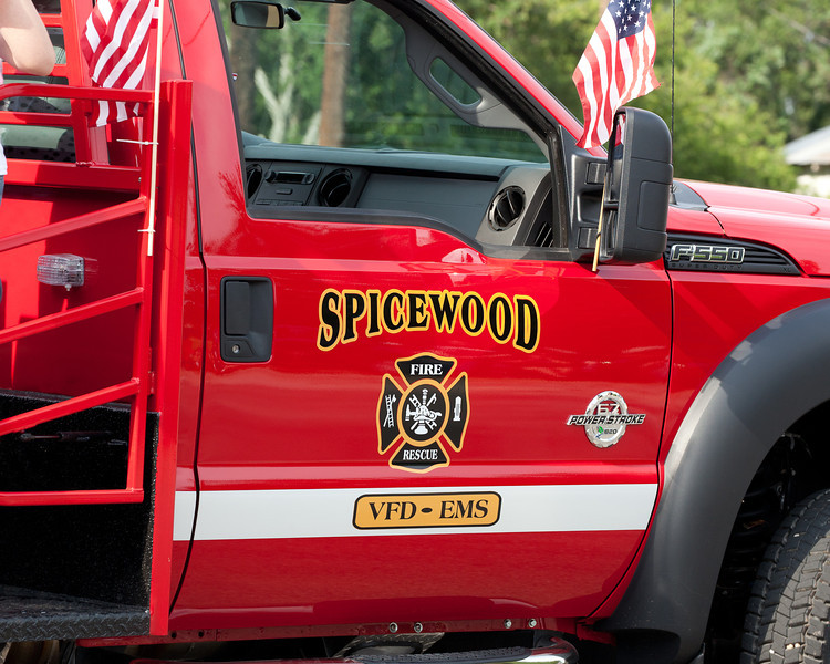 YAY for the Spicewood Volunteer Fire Department!