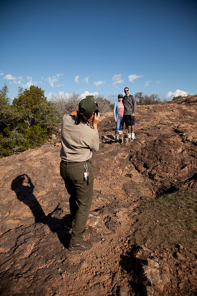 Lots of time for photos - and help from the friendly park rangers!