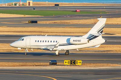 Dassault Falcon 2000LX N421SC 2-14-18