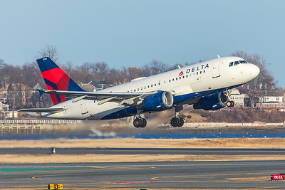 Delta Airlines Airbus A319-114 N320NB 2-14-18