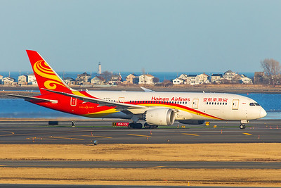 Hainan Airlines Boeing 787-8 B-2722 2-14-18