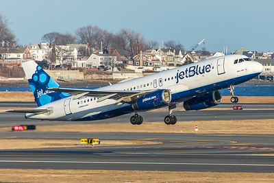 jetBlue Airways Airbus A320-232 N655JB 2-14-18