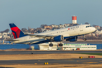 Delta Airlines Airbus A320-212 N353NW 2-14-18