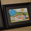 3 of 5 5x7 framed prints