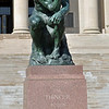 <i>The Thinker</i> by Auguste Rodin
