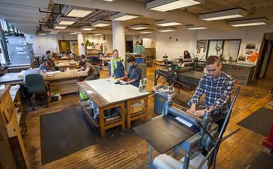 17F 302 Printmaking Lab 08