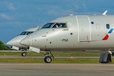 PSA Airlines Bombardier CL-600-2D24 CRJ-900LR N569NN 7-4-18 2