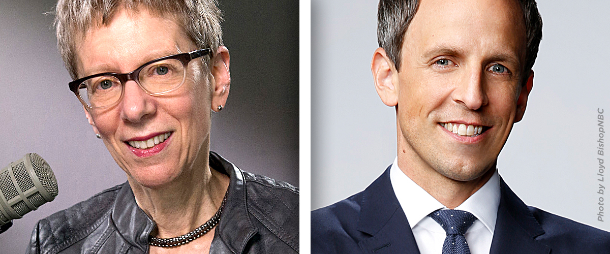 Fresh Air Live with Terry Gross and Guest Seth Meyers