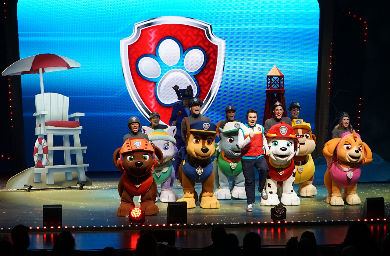 Paw Patrol Live: Race to the Rescue