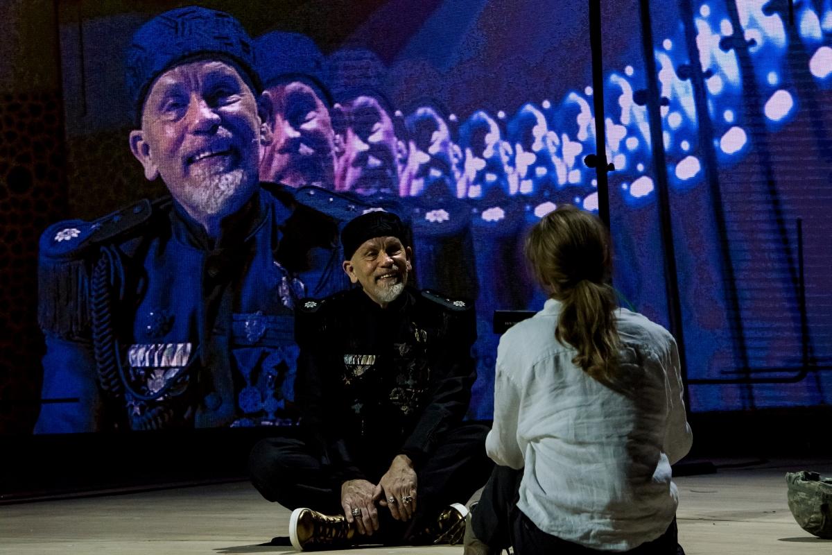 Just Call Me God: A Dictator's Final Speech Starring John Malkovich
