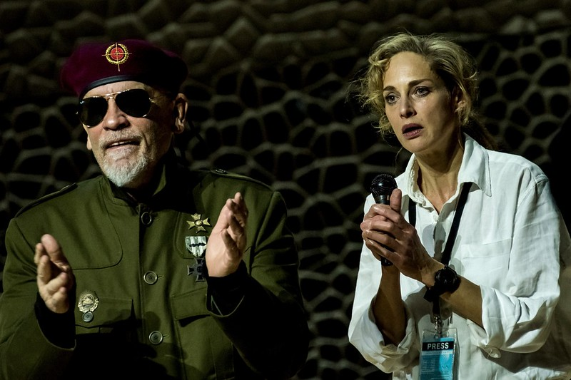Just Call Me God: A Dictator's Final Speech Starring John Malkovich