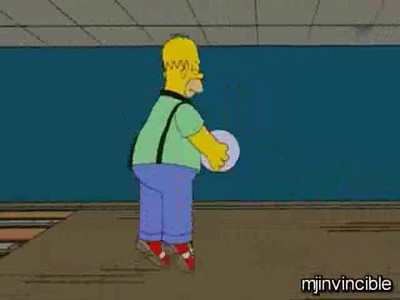Homer's Bowling Moves