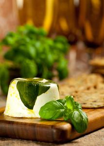 Basil Goat Cheese