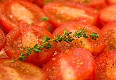 Thyme on Tomatoes