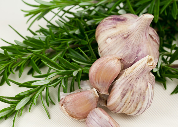 Fragrant Garlic and Rosemary