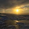 Sundog Over the Tundra