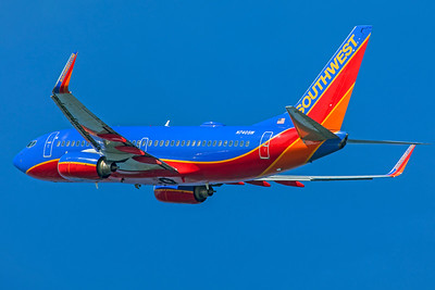 Southwest Airlines Boeing 737-7H4 N740SW 7-10-18