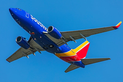 Southwest Airlines Boeing 737-7H4 N734SA 7-10-18