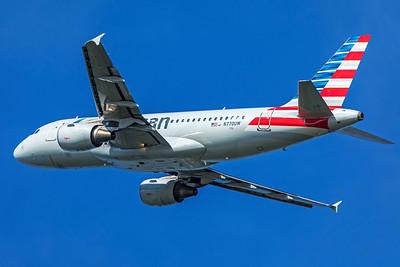 American Airlines Airbus A319-112 N770UW 7-10-18