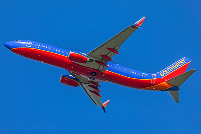 Southwest Airlines Boeing 737-8H4 N8321D 7-10-18